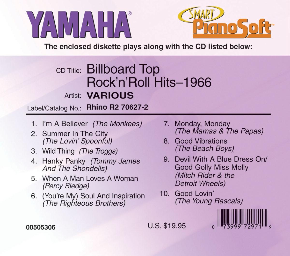 Billboard Top Rock'n'Roll Hits - 1966